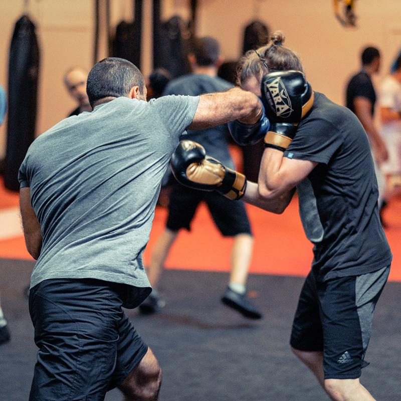 sparring 1